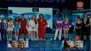 Maricielo Effio, Leslie Shaw, Morella Petrozzi, Tati Alcántara, Los Reyes del Show