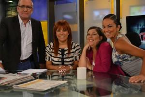 Magaly Teve , Magaly Medina, Augusto Alvarez Rodrich , Rosa Marìa Palacios