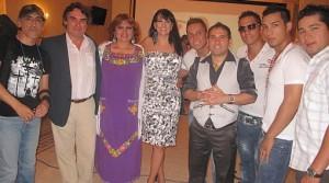 Viva el arte , Bareto , Fabiola de la Cuba , Daniel F , Amanda Portales , Lucho Quequezana