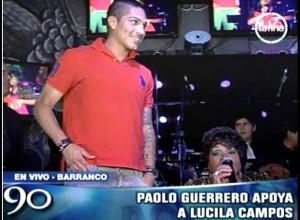 Paolo Guerrero , Lucila Campos , Videos de Espectáculos , Peña Del Carajo