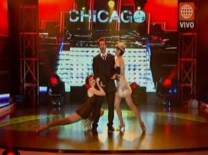 Chicago , Marco Zunino , Gisela Valcárcel , Videos de Espectáculos , América Televisión , Operación Triunfo, Marco Zunino, El Desafio