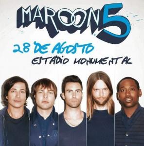 Adele, Bruno Mars, Bon Jovi, Maroon 5, Whitney Houston, Michael Jackson, concierto, lima, Perú, Estadio Monumental