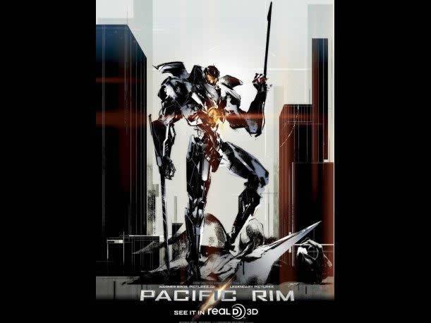 Este es el poster de la película diseñado por Yoji Shinkawa (Metal Gear Solid)
