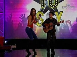 Karen Schwarz , Pedro Suárez Vértiz , Videos de Espectáculos , Yo Soy , Alejandra Guzmán
