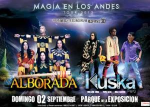 MAGIA EN LOS ANDES, KUSKA PERU, Concierto, ALBORADA