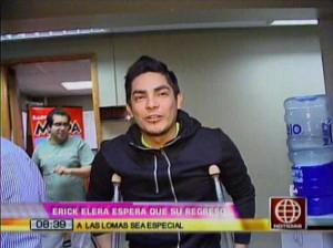 Erick Elera , Al Fondo Hay Sitio , América Espectáculos , América TV , Videos de Espectáculos